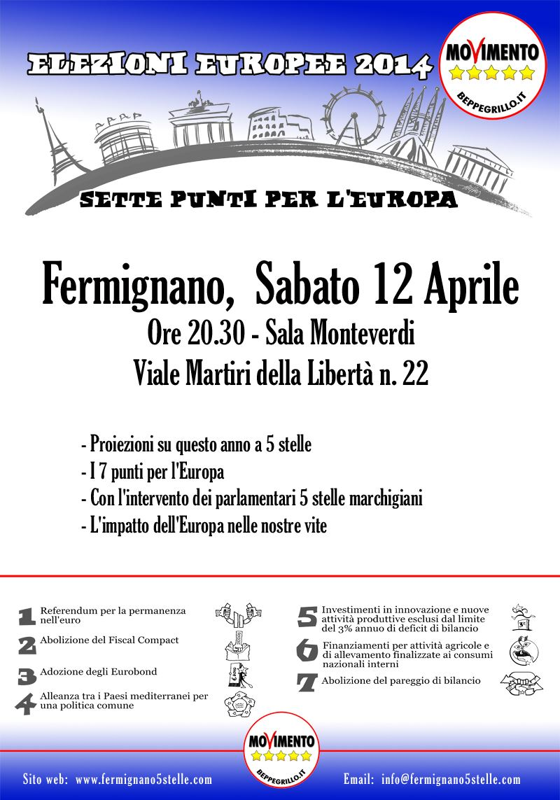 europee M5S Fermignano